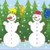 Коледни игри 1 – Снежен човек – изненада