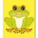 Приказка - Зелена жаба, жълт лимон