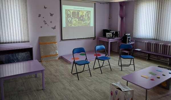 Децата бяха подготвили специална презентация за Клевър Бук!