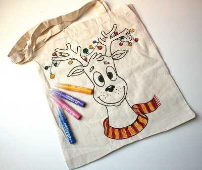 торбичка за оцветяване